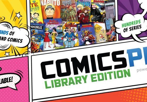 Comics Plus: Library Edition!