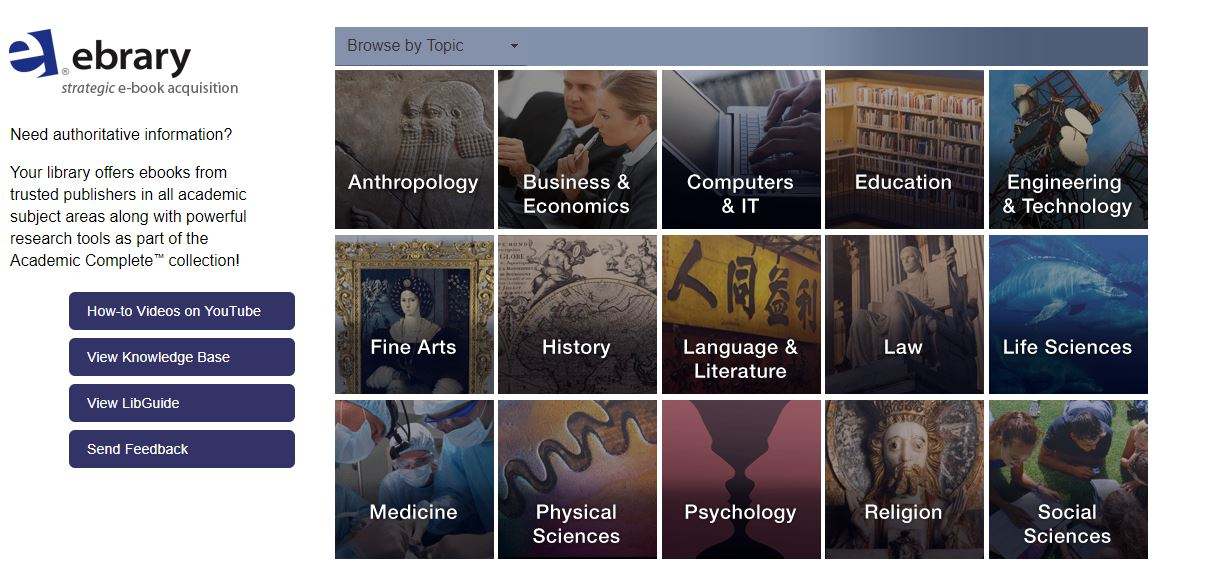Introducing ProQuest ebrary