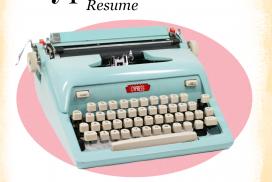 typewriter cypress resume image macro