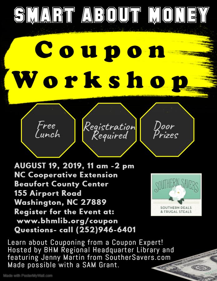 Coupon Workshop
