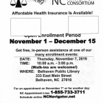 Marketplace Health Insurance Open Enrollment with Legal Aid of North Carolina