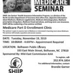 Free Medicare  Part D Open Enrollment Seminar with MECAAA