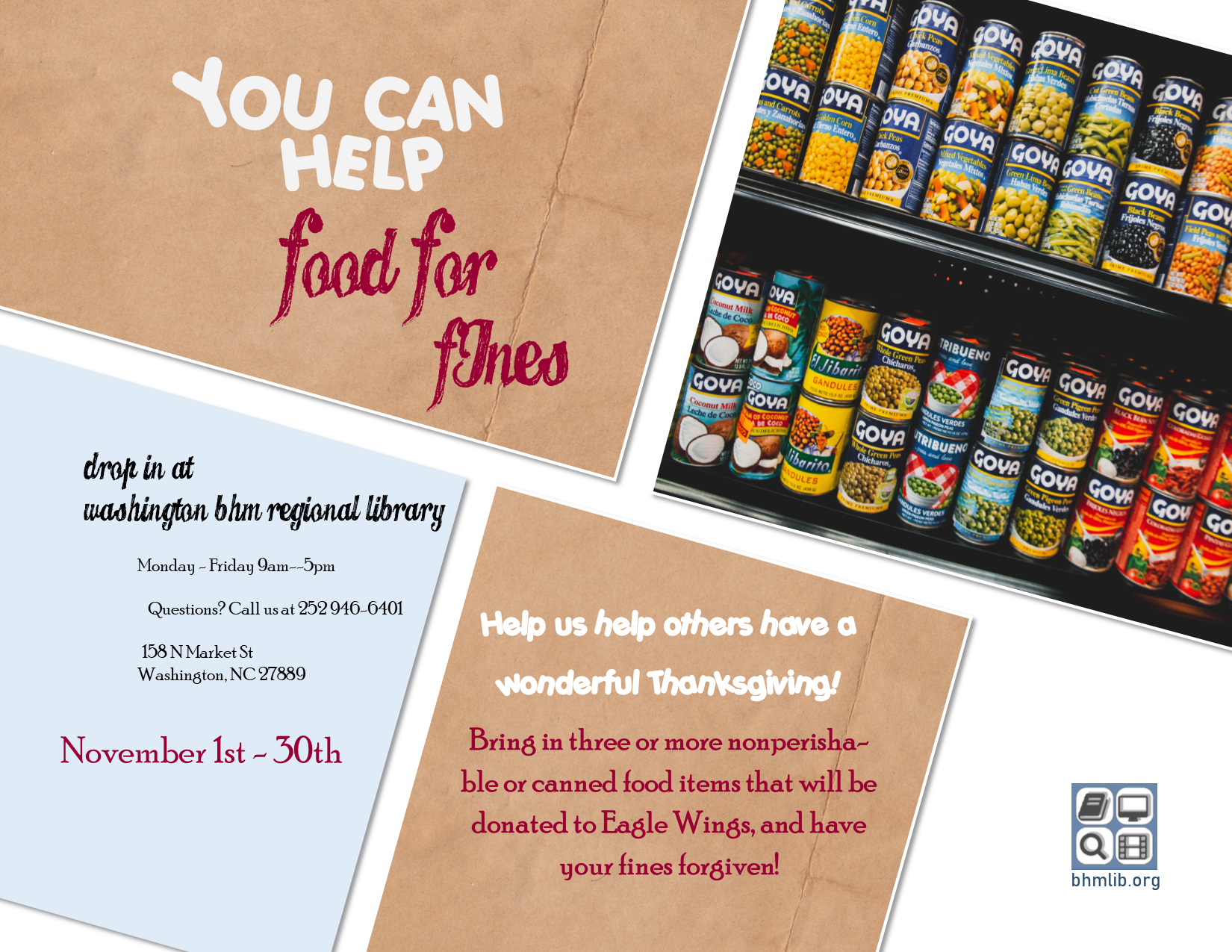 food for fines forgiveness