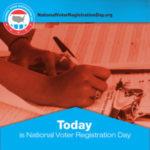 National Voter Registration Day @ MML